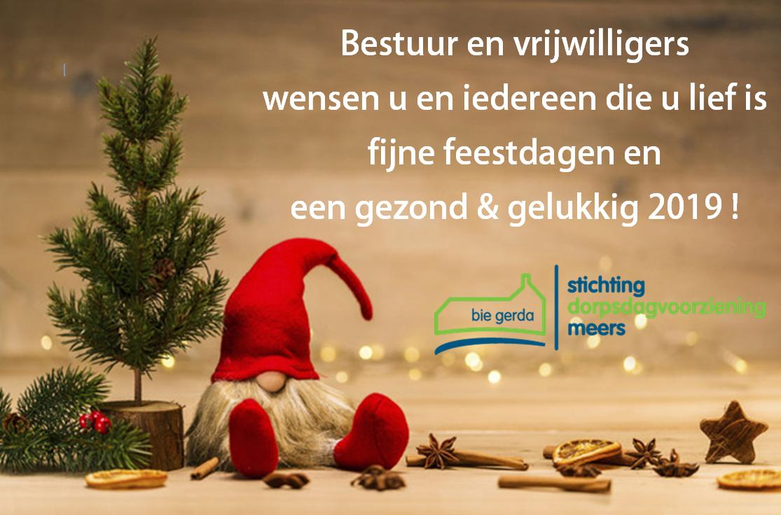 Wij Wensen U Fijne Feestdagen Nieuws Stichting Dorpsdagvoorziening Meers Bie Gerda